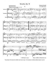 Terzetto Op. 74 by A. Dvorak