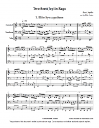 Elite Syncopations and Pine Apple Rag by S. Joplin
