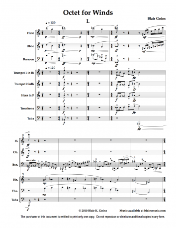 Octet for Winds (download)